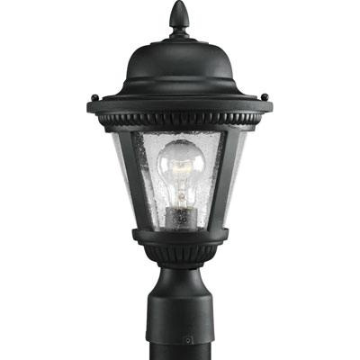 Progress Lighting P5445-31 1-Light Post Lantern 100 Watt 120 Volt Textured Black Painted Westport