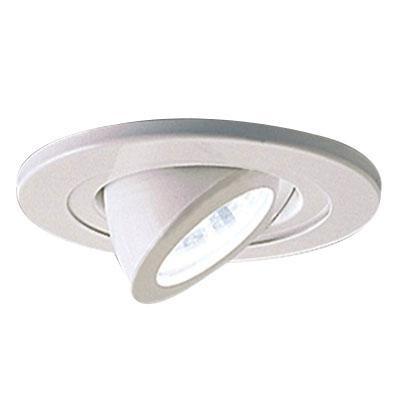 Nora Lighting Nl 465w 4 Inch Eyeball Surface Adjule Trim Round White Ring