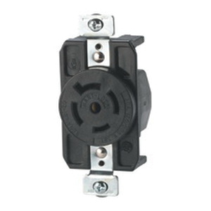 Cooper    Wiring    Device AHL2120R IndustrialSpecification Grade Locking Receptacle 4Pole 5   Wire