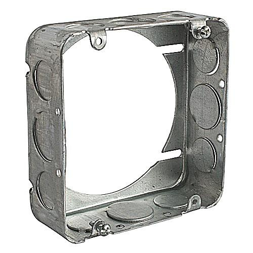Thomas & Betts 5-SS-EXT-SPL Pre-Galvanized Steel Drawn Extension Ring 4-11/16 Inch x 4-11/16 Inch x 1-1/2 Inch 29.5 Cubic-Inch Steel City® Bowers®