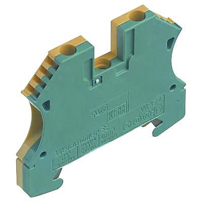 weidmuller wpe 4 wemid modular pe terminal block 26 10 awg factory rh usesi com 12 Volt Wiring Block Terminal Block Diagram