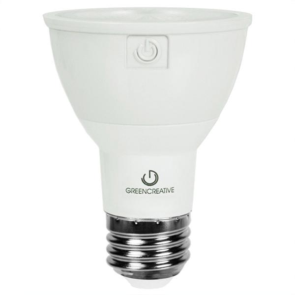 Green Creative 16108 Dimmable PAR20 LED Lamp 7 Watt E26 Medium Base ...
