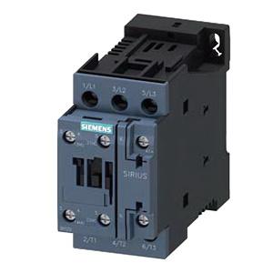SIEMENS SIRIUS 3RT2027-1BB40 3-pole contactor 24 Volt coil