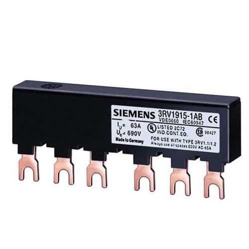 Siemens 3RV1915-1AB 2 Line Side Feeder Busbar 575-Volt 63