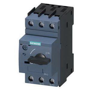 Siemens 3RV20111KA10 3-Pole 1 Or 3-Phase Motor Starter Protector 690 Volt AC 9 - 12.5 Amp Sirius