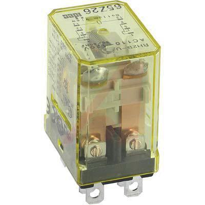 Idec RH2B-ULCAC110-120V General Purpose Relay With Indicator ... on