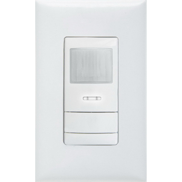 Lithonia Lighting WSX-PDT-D-WH Dimming Wall Switch Occupancy Sensor 20 - 30 ft 120/277 Volt AC White Sensor Switch™
