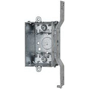 Crouse-Hinds TP168 Steel Deep Switch Box 3-Inch x 2-Inch x 2-1/2-Inch  12 5-Cubic-Inch