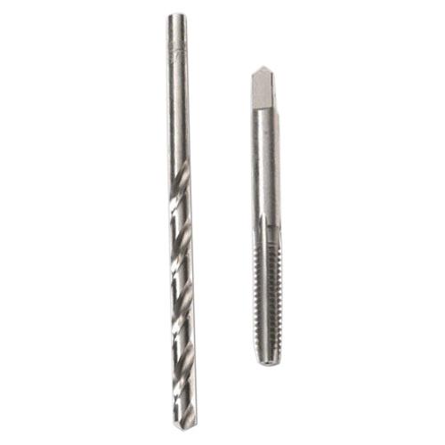 Irwin Tools 80217 High Carbon Steel/High Speed Steel Tap and Drill Bit Set 8 - 32 NC Tap #29 Drill Bit Hanson