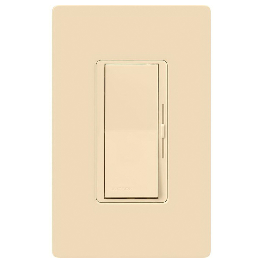 Lutron Dvwcl-153ph-iv 120-volt Ac At 60-hz 1-pole 3-way Dimmer Ivory Diva U00ae - Dimmers