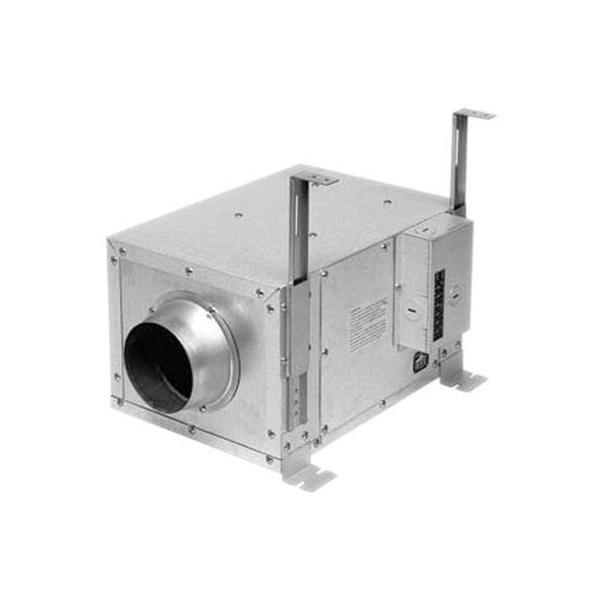Panasonic FV-10NLF1E In-Line Ventilation Fan 120 CFM at 0 2-Inch Static  Pressure 108 CFM at 0 3-Inch Static Pressure 89 CFM at 0 4-Inch Static