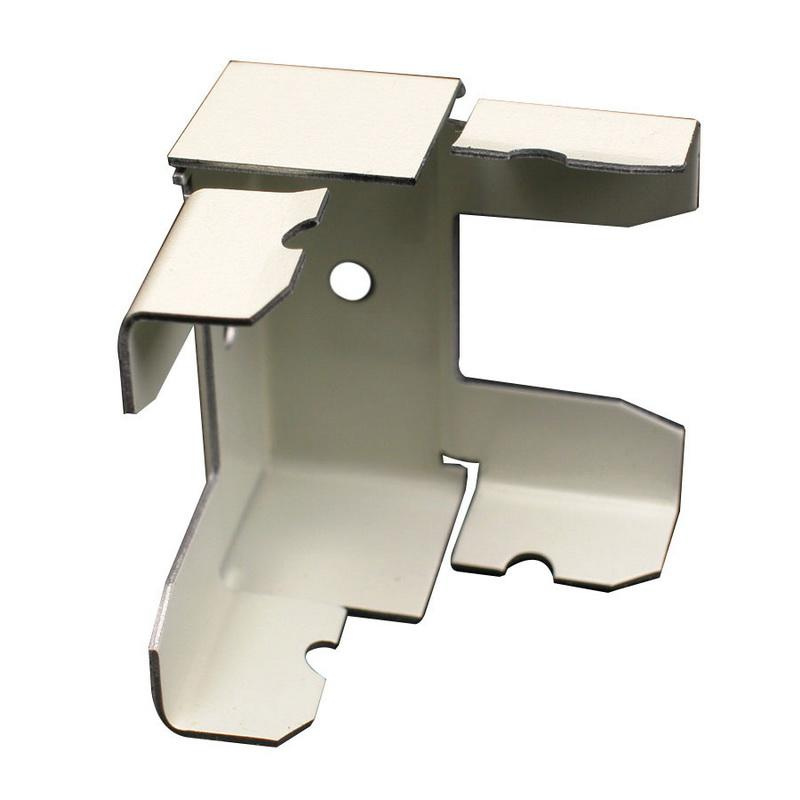 Wiremold V2417M Internal Elbow Fitting Steel Ivory For Use With 2400® Series Dual-Channel Raceway