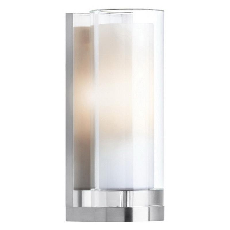 Tech Lighting 700WSSARCC 1-Light Wall Sconce 60 Watt 120 Volt Chrome Sara