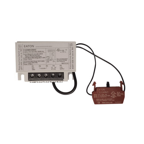 Eaton C320MH2WA0 2-Wire Mechanically Held Module Kit Use ... on wiring a lighting circuit, wiring a coil, wiring a lighting control panel, wiring a lighting control board, wiring a relay,