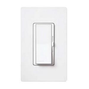 Lutron DVSC-603P-BI 120 Volt at 60 Hz 1-Pole 3-Way Preset Dimmer With Locator Light White Diva®
