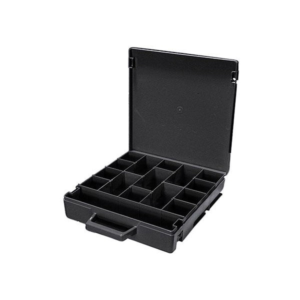 Rolacase RC001/CH Standard Tool Case 370 mm x 370 mm x 85 mm ABS Polycarbonate and Nylon 66 Charcoal