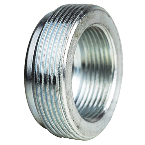 Zinc Plated Steel Reducing Bushing Pack of 5 1-1//4 x 1