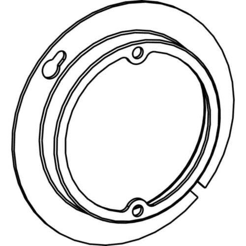 Orbit Industries 4r075 16 Gauge Sheet Steel Round Open Cover 4 Inch