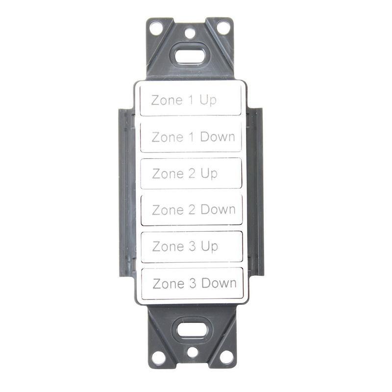 Cooper Industries RC-6TSB-ZADW Room Controller Wallstation 24 Volt DC Greengate®