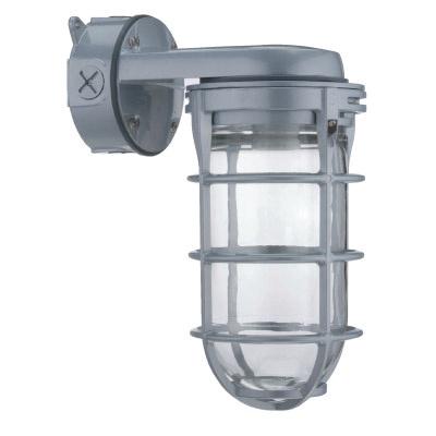 Lithonia Lighting Vw42l M6 Utility Vapor Fixture 42 Watt 120 Volt Gloss Gray Contractor Select