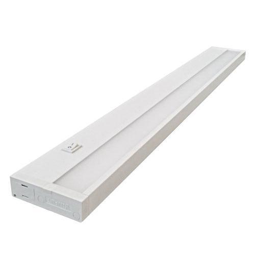 Elco Lighting Eub22l30w Slim Under Cabinet Light Fixture 8 Watt 120 Volt 3000k White Lotus Trade