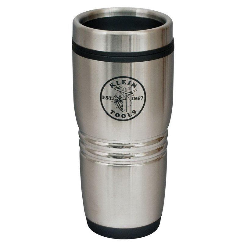 Klein tools 96785 stainless steel exterior plastic - Travel mug stainless steel interior ...