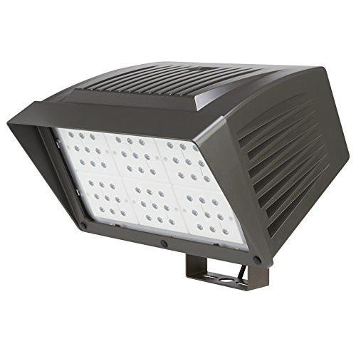 120 Volt Outdoor Led Light: Atlas Lighting PFXL126LED Knuckle Mount LED Flood Light