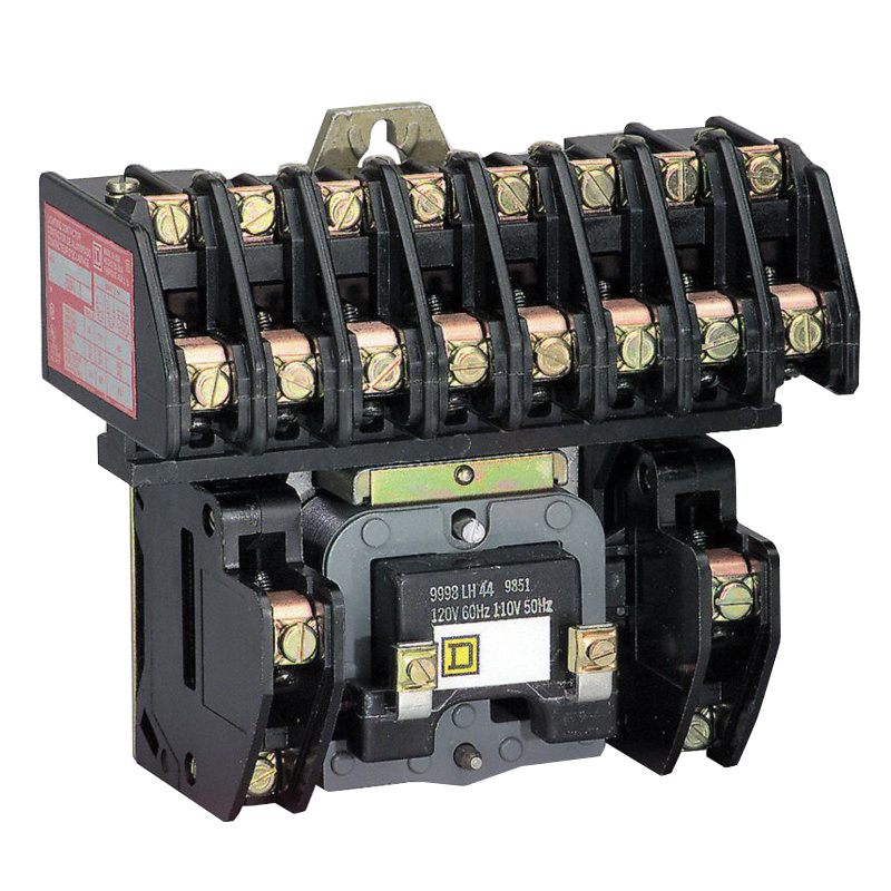 Square D 8903LO80V02 Electrically Held Lighting Contactor 8-Pole 600 ...