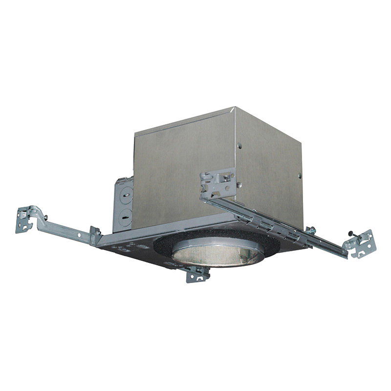 Juno Lighting IC1 LEDT24 4 Inch Quick Connect LED New Construction Housing 120 Volt Round Air-Loc®