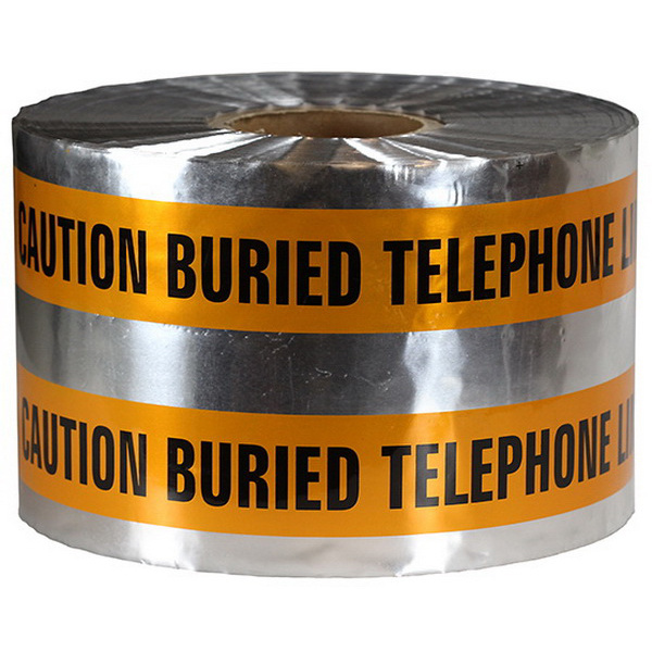 Dottie DU605 Detectable Tape 6 Inch x 1000 ft x 5 mil Orange