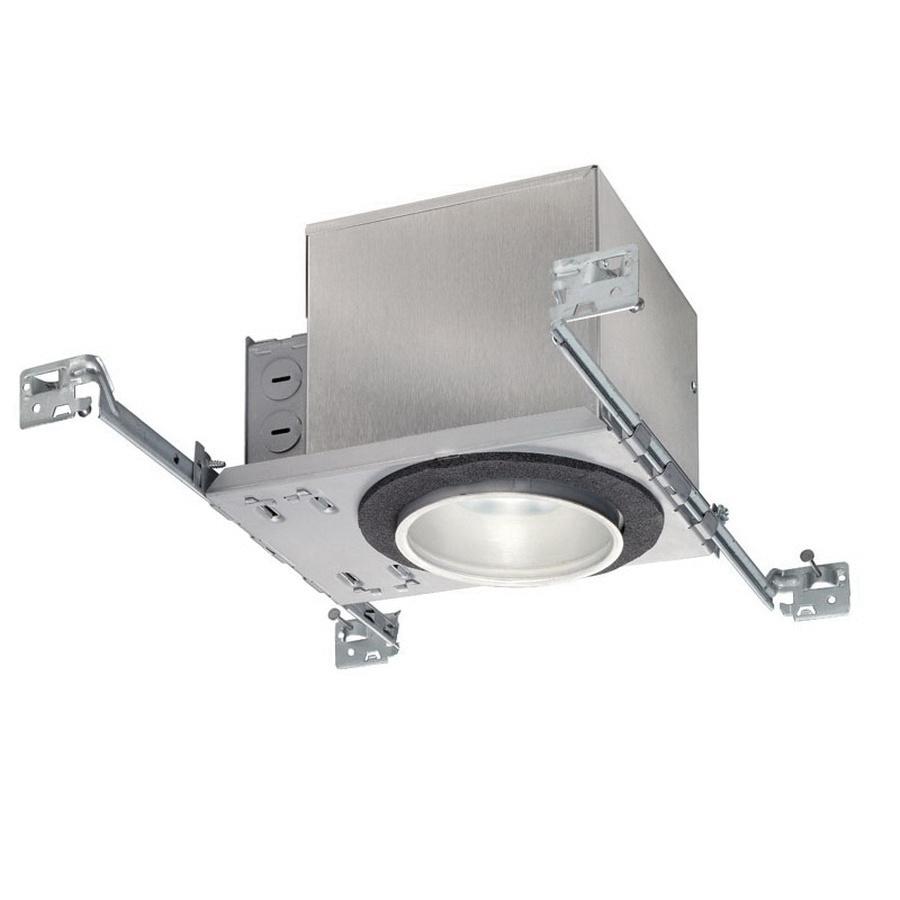 Juno Lighting IC1 LED G4 09LM 30K 90CRI 120 FRPC 4 Inch Wall Wash 4th Generation LED New Construction Down Light Housing 120 Volt Square 11.6 Watt 90 CRI 3000K 900 Lumens Air-Loc®
