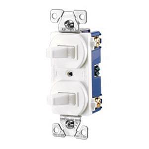 cooper wiring device 275v-box (2) 1-pole 120/277-