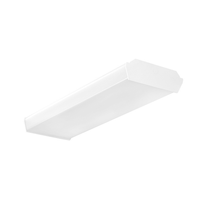 Rab Lighting Led Wrap: Rab GUS2-18NW/D10 Dimmable LED Wrap Fixture 18-Watt 120