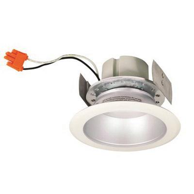 Nora Lighting Nlcbc451d30ww Dimmable 4 Inch Led Retrofit Deep Cone Reflector Trim 95 Cri 3000k 1000 Lumens White Cobalt