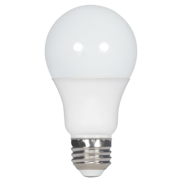 Satco S9838 Dimmable A19 A-Line LED Lamp 9.5 Watt E26 Medium Base 800 Lumens 80 CRI 4000K Cool White 60 Watt Incandescent