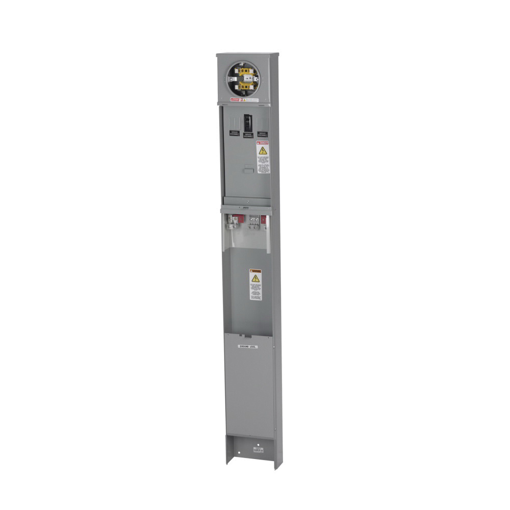 B-Line M1M100PD 1-Phase Ring Type Mobile Home Pedestal 4 Jaw 125-Amp on home brand, home dimensions, home sound systems, home books, home audio, home dj, home motor, home turntables, home accessories, home cabinets,