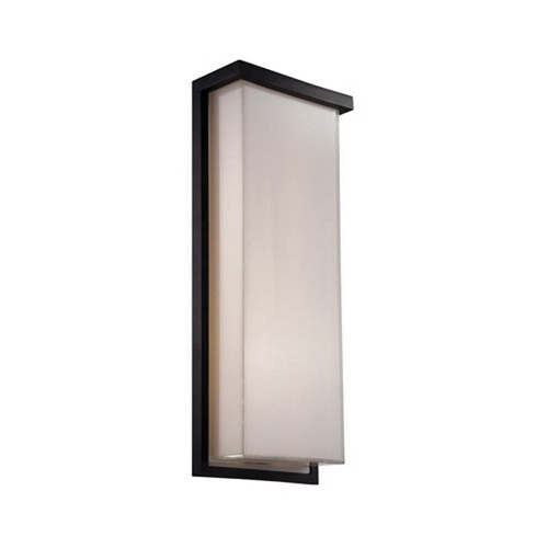 Modern Forms WS-W1420-BK Junction Box Mount Wall Sconce 29 Watt 120 Volt Black