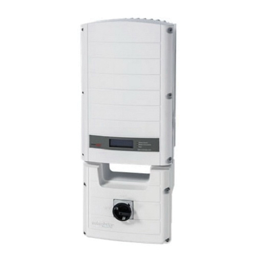 SolarEdge SE10000A-US 1-Phase Grid Tied Inverter 208/240 Volt AC Output 9980 Watt at 208 Volt AC 10000 Watt at 240 Volt AC