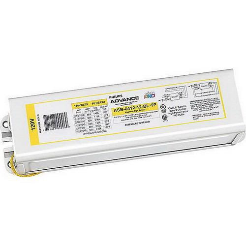 Philips Advance ASB041212BLTPI (2) 110 Watt T12/HO Lamp Magnetic Fluorescent Ballast 120 Volt SignPRO