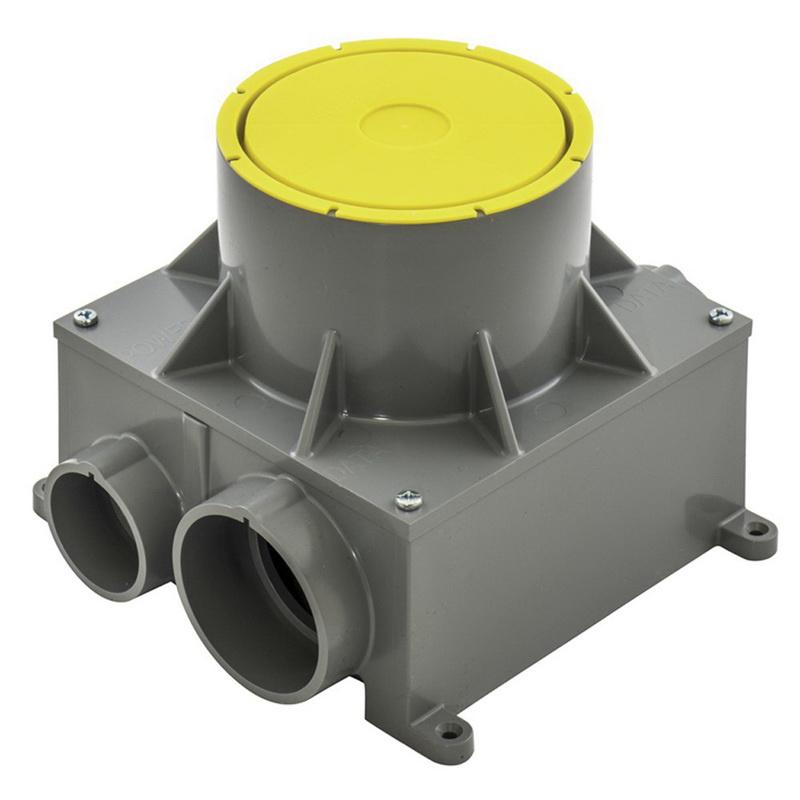 Hubbell Wiring Cfbs1r4pfb Pvc Non Metallic Recessed Floor
