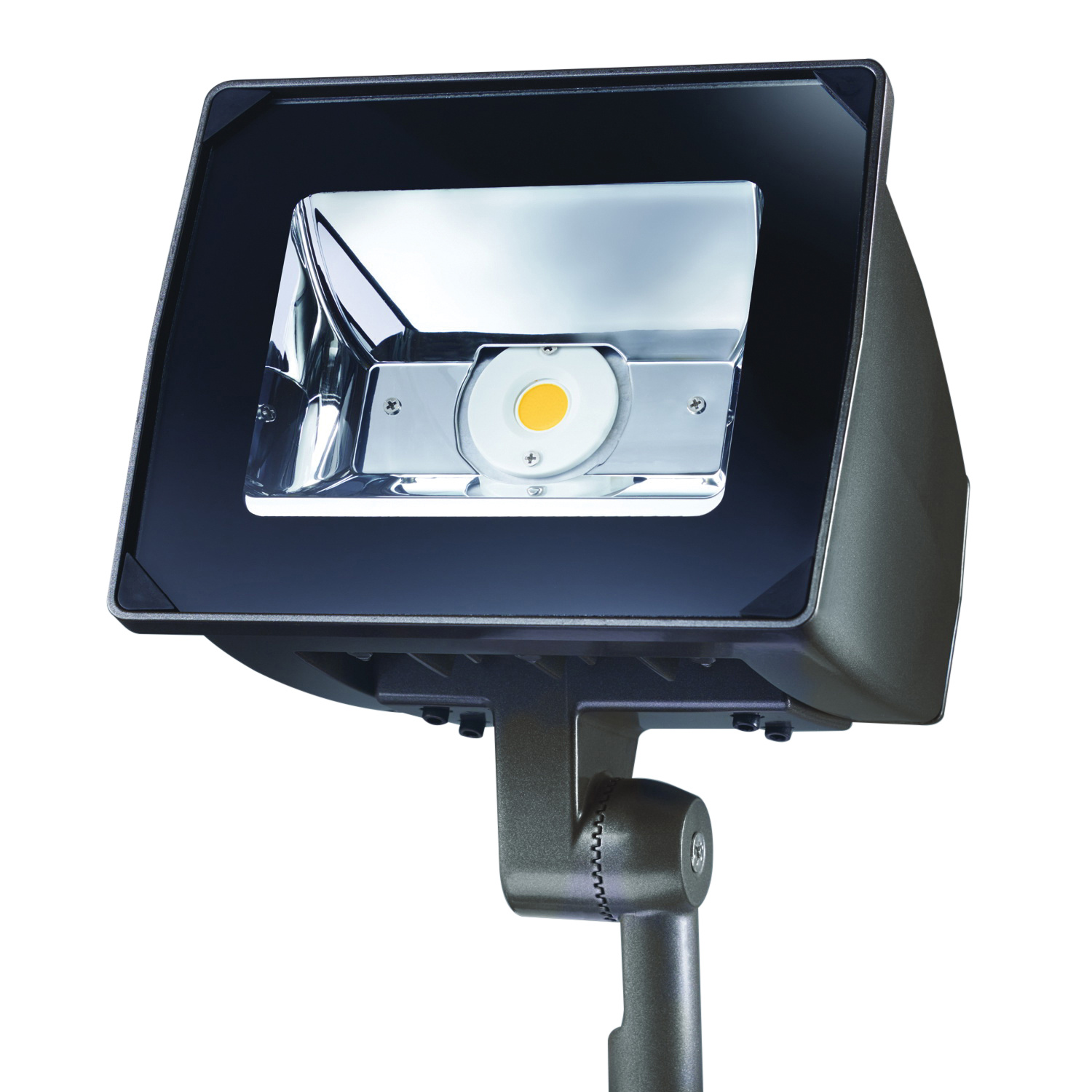 Cooper Lighting NFFLD-S-C15-KNC-UNV LED Flood Light Fixture 51 Watt 120 - 277 Volt 4000K Knuckle Mount TGIC Polyester Powder Coated Lumark®