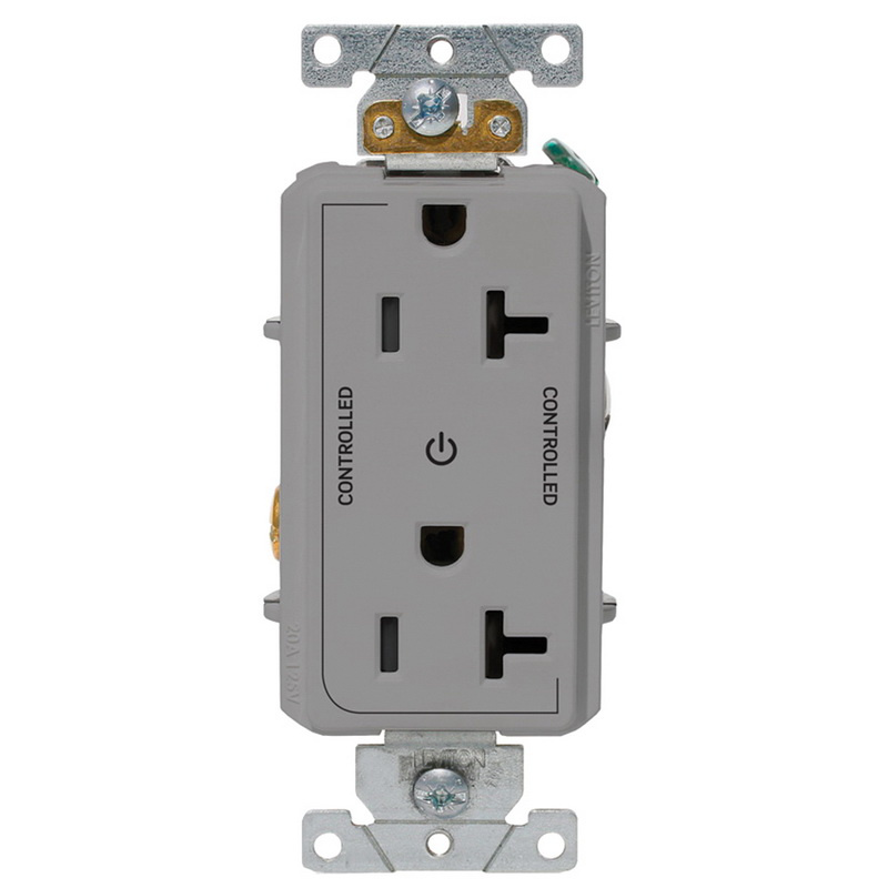 Leviton 16352-2PG Heavy-Duty Duplex Receptacle Outlet 2-Pole ... on