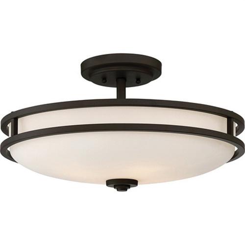 Quoizel Lighting Cdt1719oz 4 Light Semi Flush Mount Fixture 100 Watt 120
