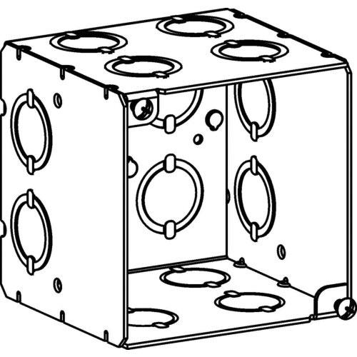 Orbit Industries 4sedb Cko Sheet Steel Extra Deep Switch Box 4 Inch