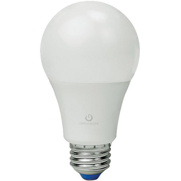 Green Creative 58039 A19 LED Lamp 9 Watt E26 Medium Base 860 Lumens ...