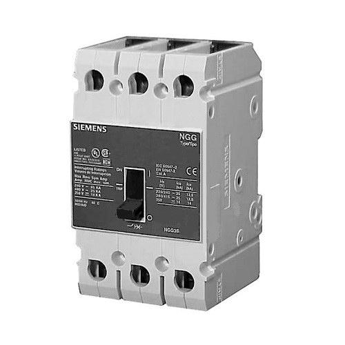 Siemens HGG3B040L Type HGG Low Voltage Molded Case Circuit