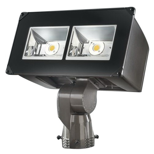 Cooper Lighting NFFLD-S-C15-T-UNV LED Flood Light Fixture 51 Watt 120 - 277 Volt 4000K Trunnion Mount TGIC Polyester Powder Coated Lumark®