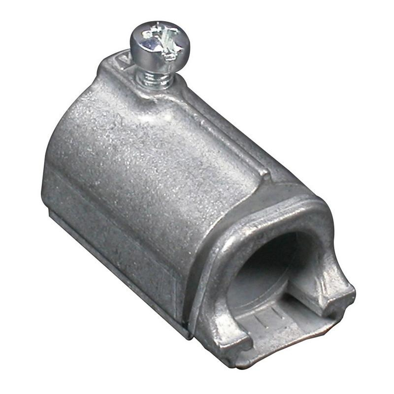 Wiremold 5791 Emt Connector Fitting 1 2 Inch Steel Ivory