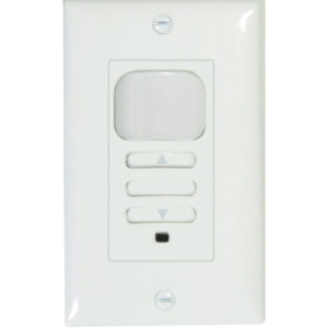 Hubbell Lighting LHD-IRS-3-N-WH PIR 3-on Dimming Wall ... on 3 wire switch wiring, 3 pole switch wiring, 3 switch box wiring,