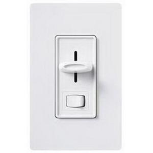 Lutron S-600PH-WH 120 Volt at 60 Hz 1-Pole Preset Dimmer White Clamshell Pack Skylark®